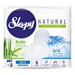 Sleepy Naturel Ultra Hassas Hijyenik Ped Gece 6 Adet