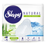 Sleep Naturel Ultra Hassas  Hijyenik Ped Normal 8 Adet