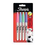 Sharpie Fine Permanet Markör Pastel Renkler 4'lü