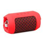 Mıkado MD-BT16 Dynamic Kırmızı 3W TF/ Aux/ Fm Destekli Bluetooth Speaker