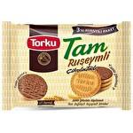 Torku Tam Ruşeymli Çikolata Kaplı Bisküvi 252 g