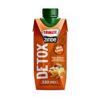 Tamek Zinde Detox elma-Portakal-Limon-Havuç-Zencefil 330 ml