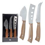 Excellent Houseware Peynir Bıçağı 3'lü Set