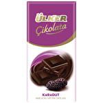 Ülker Çikolata Tablet Bitter Karadut 47 g