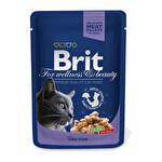 Brit Morina Balıklı Kedi Poşet Mama 100 g