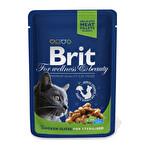 Brit Tavuklu Kısır Kedi Poşet Mama 100 g
