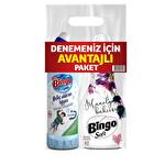 Bingo Soft 1440 Ml + Bingo Oksijenli Çamaşır Suyu 750 Ml