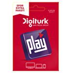 Digiturk Play Spor Extra Paketi 6 Aylık (3 Ekran)