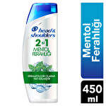 Head & Shoulders Şampuan 2 si 1 Mentol Ferahlığı 450Ml