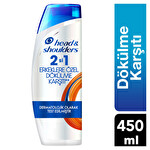Head & Shoulders 2 si 1 Erkeklere Özel Dökülme Karşıtı Şampuan 450Ml