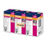 Osram 8,5 W E27 806 Lümen Sarı Işık Led Ampul 3'lü Paket