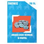 Fortnite 2500 Vpapel + 300 Bonus