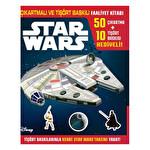 Disney Starwars - Çıkartmalı ve Tişört Baskılı Faaliyet Kitabı