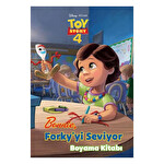 Disney Pixar Toy Story 4-Bonnie Forky'yi Seviyor Boyama Kitabı