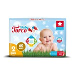 Baby Turco Bebek Bezi 2 Mini 60 Adet