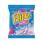 Ülker Flipz Sütlü Çilek Aromalı Kaplamalı Kraker 60 g
