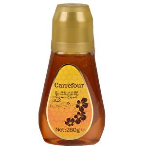 Carrefour Süzme Çiçek Balı Çift Kapaklı 280 g