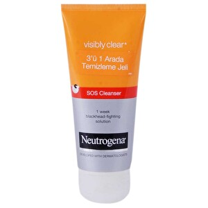 Neutrogena Visibly Clear 3in1 Temizleme Jeli 100 ml