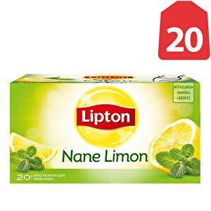 Lipton Nane Limon Çayı 20'li