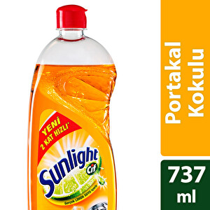 Cif Sunlight Bulaşık Deterjanı Portakal Kokulu 760 ml