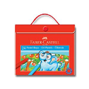 Faber Castell Çantalı Pastel Boya 24'lü