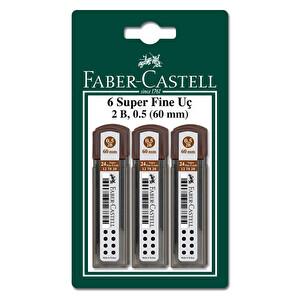 Faber Castell 6'Lı 0.7 Kalem Ucu