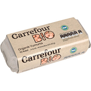 Carrefour Organik Yumurta 10'lu