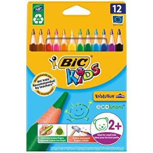 Bic Kids 12'li Kuru Boya Kalemi