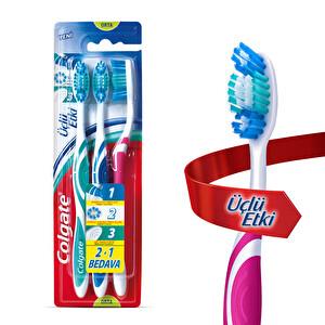 Colgate Üçlü Etki Diş Fırçası Üçlü Paket