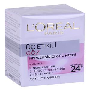 Loreal 3 Etkili Göz Bakım Kremi 15 g