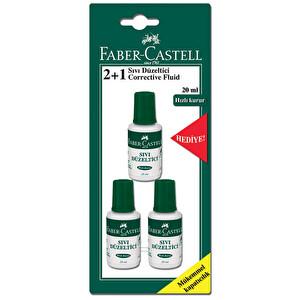 Faber Castell Sıvı Düzeltici 2+1