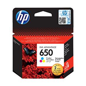 HP 650 Üç Renkli Kartuş (CZ102AE)