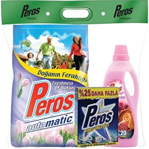 Peros Doğanın Ferahlığı Çamaşır Deterjanı Seti