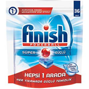 Finish Bulaşık Makinesi Deterjanı Hepsibirarada Tablet 36'lı Çamaşır Suyu Etkili