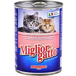 Miglior Gatto Somon Balıklı Kedi Konservesi 405 g