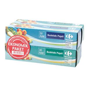 Carrefour Eko Buzdolabı Poşeti 4'lü