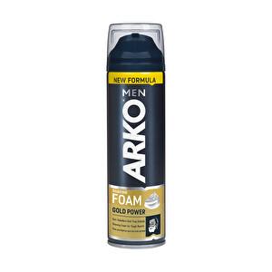Arko Tıraş Köpüğü 200 ml Gold Power