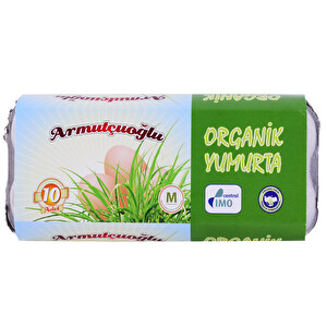 Armutçuoğlu Organik Yumurta 10'lu 53-62 g