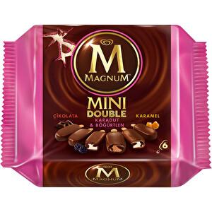 Magnum Mini Double Karadut-Böğürtlen-Karamel