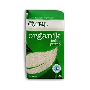 Orvital Organik Baldo Pirinç 1 kg