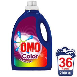 Omo Sıvı Yarı Konsantre Çamaşır Deterjanı Color 36 Yıkama 2700 ml