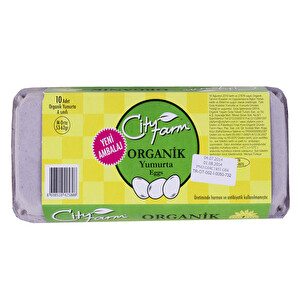 City Farm Organik Yumurta 10'lu