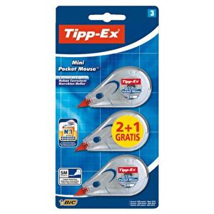 Tipp-Ex Mini Pocket Şerit Silici 3'lü