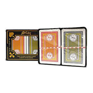 Stara 30 Oyun Kağıdı 2'li Plastik Ambalaj