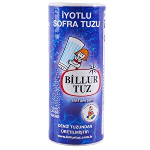 Billur İyot Tuz/Tuzluklu 125 g