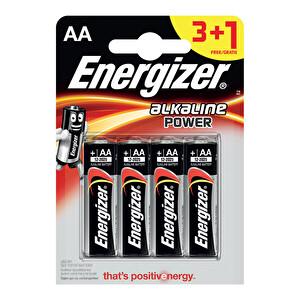 Energizer Power Kalın Kalem AA Pil 4'lü