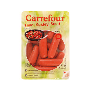 Carrefour Hindi Kokteyl Sosis 300 g