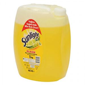 Cif Sunlight Limon Kokulu Bulaşık Deterjanı 5 kg