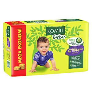 Komili Bebe Bebek Bezi Jumbo Maxi Plus Paket