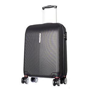 CCS-5136 ABS Valiz 55 cm Siyah